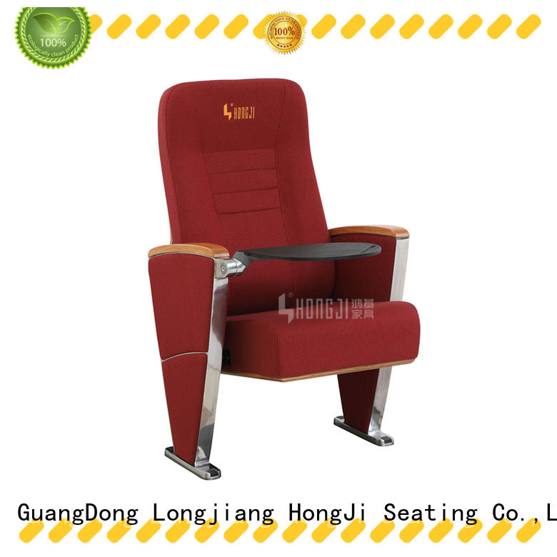 HONGJI newly style 4 person theater seating supplier for student