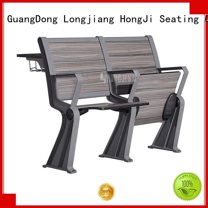 HONGJI tc905a classroom chair with desk supplier for university