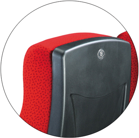 Armrest adjustable cinema chair in high quality and factory sales HJ815B-2