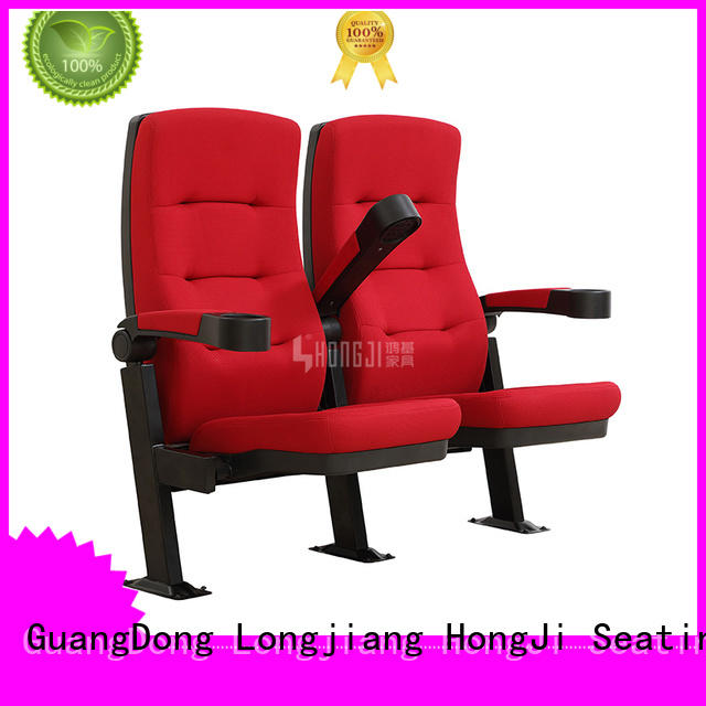 elegant home theater seating 4 seater hj16d directly factory price for sale