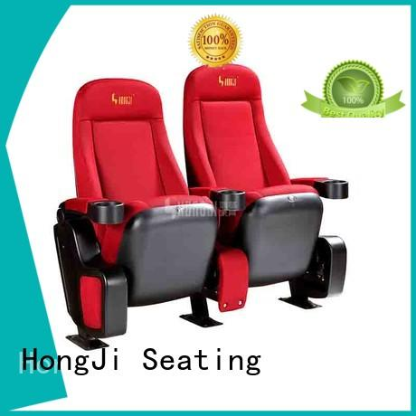 HONGJI odm theater room recliners factory for theater