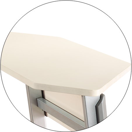 HONGJI movable office table exporter for classroom-2
