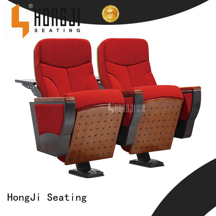 HONGJI 2 seat theater chairs factory for cinema