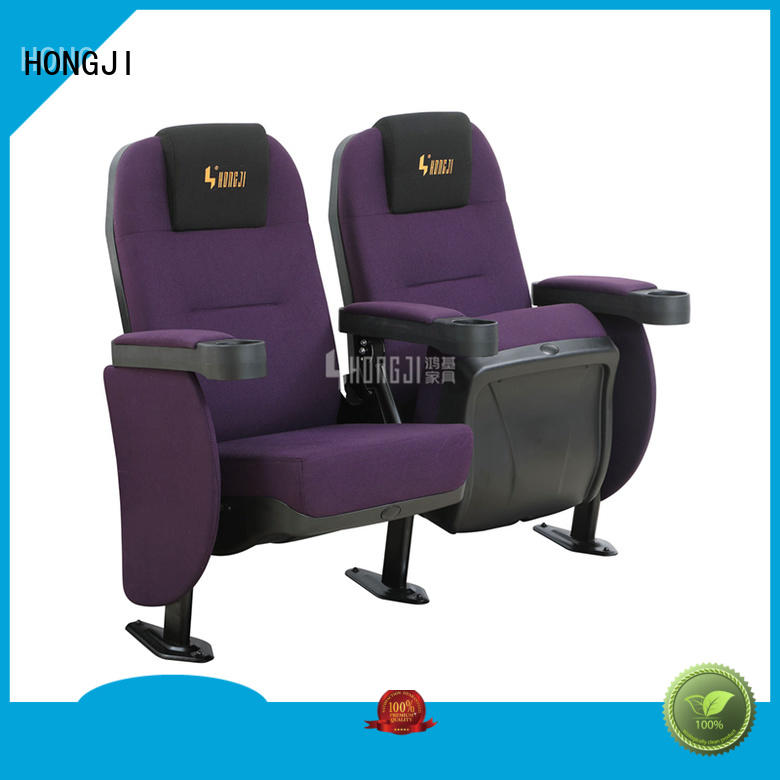 HONGJI elegant movie theater recliners for sale factory for theater