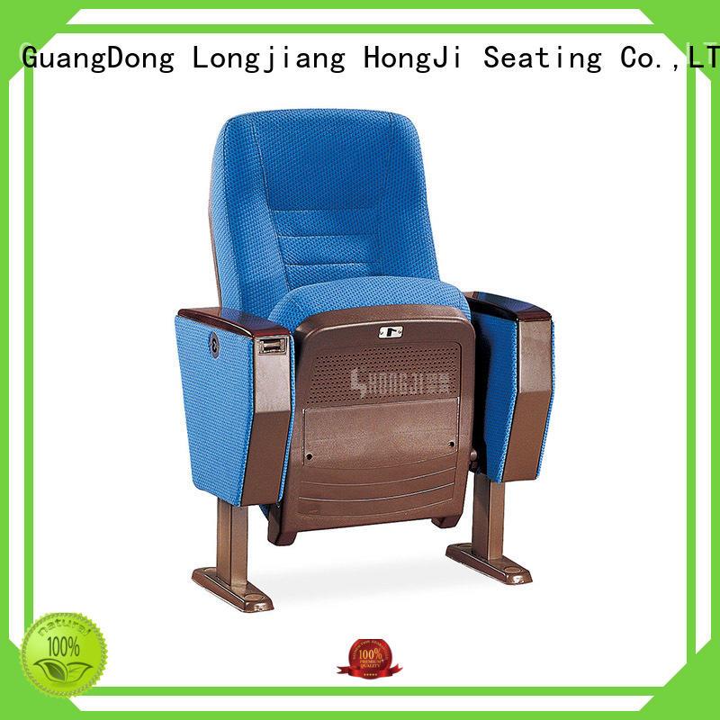 HONGJI elegant auditorium seating supplier for cinema