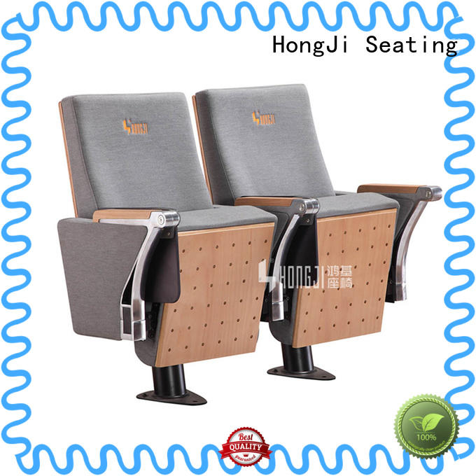 HONGJI high-end lecture hall seating factory for university classroom