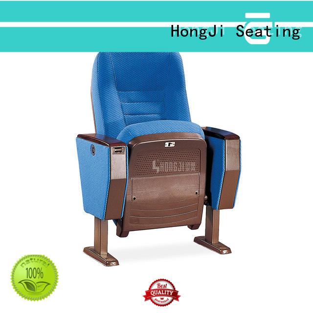 HONGJI outstanding durability auditorium seats wholesale supplier for student