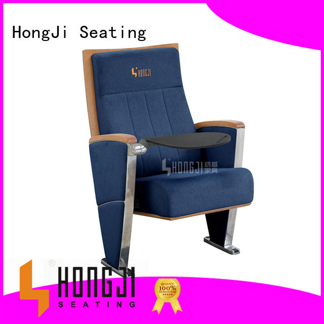 HONGJI newly style 2 seat theater seating factory for sale