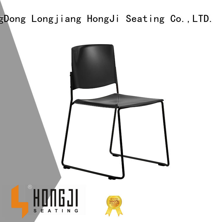 HONGJI stackable conference chair well-know factory