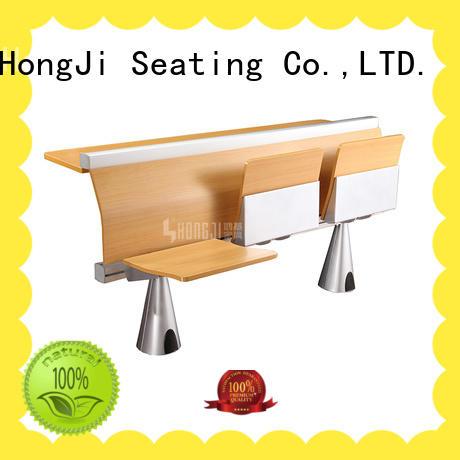 HONGJI ISO14001 certified middle school desk factory fpr classroom