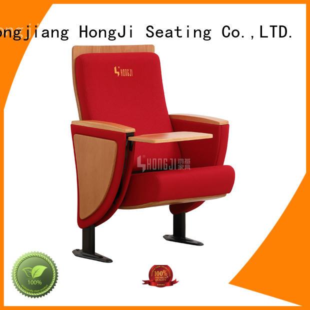 HONGJI outstanding durability auditorium seating standards factory for cinema