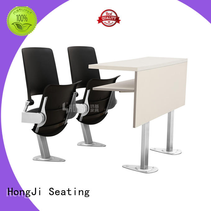 HONGJI ISO9001 certified school table and chair set for high school